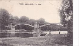 20860 Puyoo-Bellocq  - Le Pont  - Barbé Photo éd - Gave De Pau  Ramous (64)