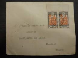 LETTRE  DE L'ILE FAKARAVA TUAMOTU ADRESSEE EN FRANCE 1937 COVER