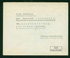 Iran 1953 - Airmail Cover Teheran To Enschede - Netherlands - Iran