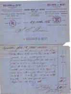 Anvers 1880 - Beliard And Best - Decauville's Patent - Transport