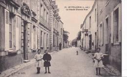 20867 LE PELLERIN - 12 - La Haute-Grande-Rue  - Enfant Garcon Fillette -tabac - France