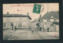 VILLE SUR TOURBE - Cour De L'Ancien Château (1908) - Ville-sur-Tourbe