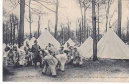 20868 Maisons Laffite (France ) -le Camp -la Corvée De Quartier-  Marmase Paris - Manoeuvres