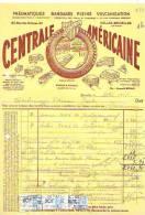 Bruxelles 1935 - Pneumatiques - Centrale Américaine - Cars