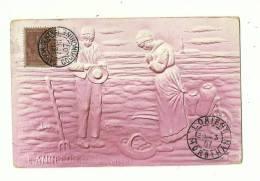 Colonies Françaises – INDOCHINE T84 – SAIGON CENTRAL COCHINCHINE - 26 FEVR.07/DAL.N°29sur CPA Relief