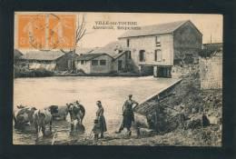 VILLE SUR TOURBE - Abreuvoir - Briqueterie (belle Animation) - Ville-sur-Tourbe