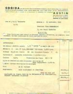 Bruxelles 1949 - Automobile Austin - Sogida - Cars
