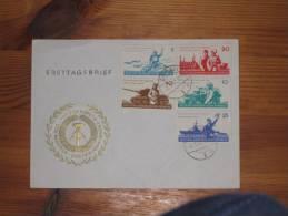 FDC DDR Ersttagsbrief Deutschland Zittau 1962  6 Jahre Nationale Volksarmee NVA - FDC: Covers