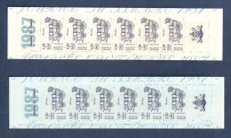 France, Carnet BC2469A, BC 2469A, 2 Carnets Neuf **, Non Pliés, TTB, Bleu Foncé Et Bleu Pâle, Journée Du Timbre, Berline - Dag Van De Postzegel