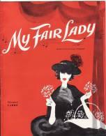 Nederland. Programmaboekje My Fair Lady In Carré Van 29 April 1961 Met Wim Sonneveld E.a. - Programmes