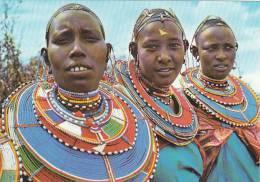 20876 Kensta Tribes Series ; Maasai Women -231 Mayers Farm Kenya, Photo Dino Sassi - Cartes Postales