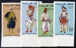 MAROC  N°565/68**  NON DENTELE  COSTUMES - Morocco (1956-...)