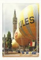 Cp, 59, Lille, Le Beffroi Et Les Ballons, Voyagée 1989 - Lille