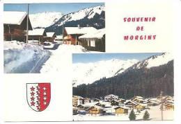 CPSM Souvenirs De MORGINS - VS Valais