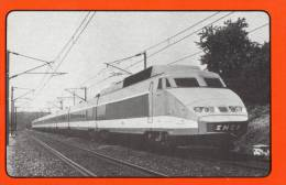TGV PREMIERE GENERATION.  Pub De L´OCCAJ Pour Ses Groupes à Dest Des Centres De Vacances - Trains