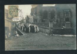 SAINTE MENEHOULD - Souvenir De L'installation De M. L'Abbé Rousselot Dans La Nouvelle Paroisse Le 25 Mars 1906 - Sainte-Menehould