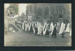 SAINTE MENEHOULD - Souvenir De L´installation De M. L´Abbé Rousselot Dans La Nouvelle Paroisse Le 25 Mars 1906 - Sainte-Menehould