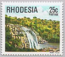 Rhodesia 1978 Goba Falls Waterfall Wasserfall ** MNH - Zimbabwe (1980-...)