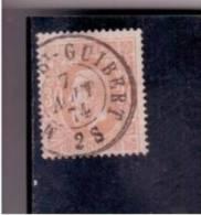 YT Belgique 1869-35- N° 33 - Leopold II - Belgique