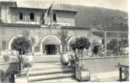 CPA - SOSPEL - HOTEL DE FRANCE - LE RELAIS DE FRANCE - SA TERRASSE - TELEPHONE 1 - - Sospel