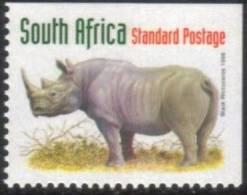 South Africa - 1998 Redrawn 6th Definitive SPR Rhino 2 Sides Imperf (**) # SG 1029 , Mi 1115 - Ohne Zuordnung