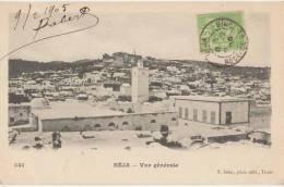 CPA TUNISIE BEJA Vue Générale 1905 - Tunisie