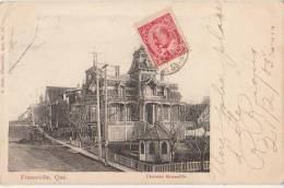 CPA CANADA QUEBEC FRASERVILLE Château Granville 1905 - Quebec