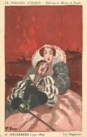 LE THEATRE LYRIQUE PUBLICITE RICQLES MEYERBEER LES HUGUENOTS - Opera