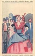 LE THEATRE LYRIQUE PUBLICITE RICQLES  CHARLES LECOCQ LA FILLE DE MADAME ANGOT - Opera