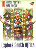 South Africa - 1998 Explore South Africa KwaZulu-Natal Booklet # SG SB51, Mi 1164-1168 - Carnets
