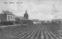 ANVAING - Place Verte - Circulée 1911 - Frasnes-lez-Anvaing