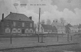 ANVAING - Une Vue De La Place  - Circulée 1913 - Frasnes-lez-Anvaing