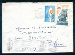 52843 Cover Lettre Brief  1975 ROSES , PICARDIE , FREGATE LA MELPOMENE , SAILBOAT France Frankreich Francia - Covers & Documents