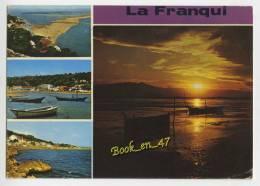 {51404} 11 Aude La Franqui , Multivues ; Vue Générale , La Plage , Les Rochers - Autres Communes