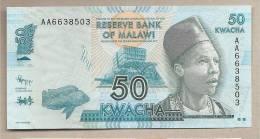 Malawi - Banconota Non Circolata Da 50 Kwacha - 2012 - Malawi
