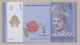 Malesia - Banconota Non Circolata Da 1 Ringgit - Polimero - 2012 - Malesia