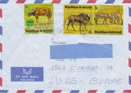 [Z2] Lettre Burundi Faune Fauna - Burundi