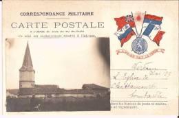 CHATTANCOURT - PHOTO De L´Eglise Bombardée Sur Correspondance Militaire - Bon état - Sin Clasificación