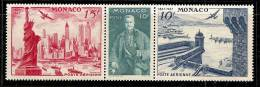 1004. Monaco, 1947, American Stamp Centenary, MNH