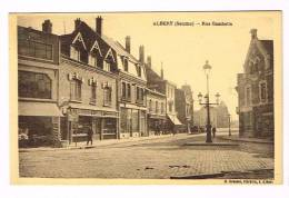 ALBERT ( Somme )  Rue Gambetta - Albert