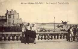 LES SABLES D'OLONNE Sur Le Parvis Du Palais De Justice - Sables D'Olonne