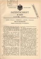 Original Patentschrift - G. Straub In Emmering B. Aßling , Oberbayern , 1906 , Globus Für Unterricht , Erdkunde , Schule - Historische Dokumente