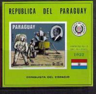 Paraguay 1970 SC 1243 MNH Space - Paraguay
