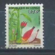 VEND TIMBRE DU CONGO ( BRAZZAVILLE ) , N° 1752 , COTE : ?, !!!! - Afgestempeld