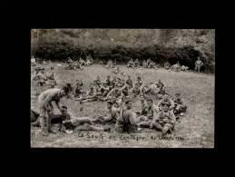 24 - LE LARZAC - La Soupe En Campagne Au Larzac - CARTE PHOTO De 1934 - 15è Régiment D´Infanterie - Dordogne - Militaria - France