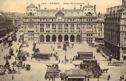 PARIS Gare Saint-Lazare - Metro, Estaciones