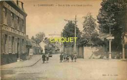 Cpa 59 Lambersart, Rue De Lille Et Grand Jeu D'Arc, Beau Tramway, Estaminet..... Carte Pas Courante - Lambersart