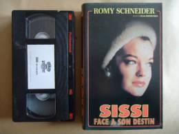 SISSI FACE A SON DESTI VHS CASSETTE  AVEC R. SCHNEIDER - Romantique
