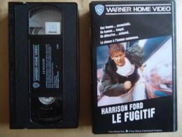 LE FUGITIF VHS CASSETTE  AVEC HARRISON FORD - Politie & Thriller
