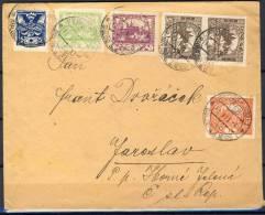 .12.OCT.253.   POSTSTUK VERSTUURD  IN  DE  C.S.R.  1920. - Tchécoslovaquie
